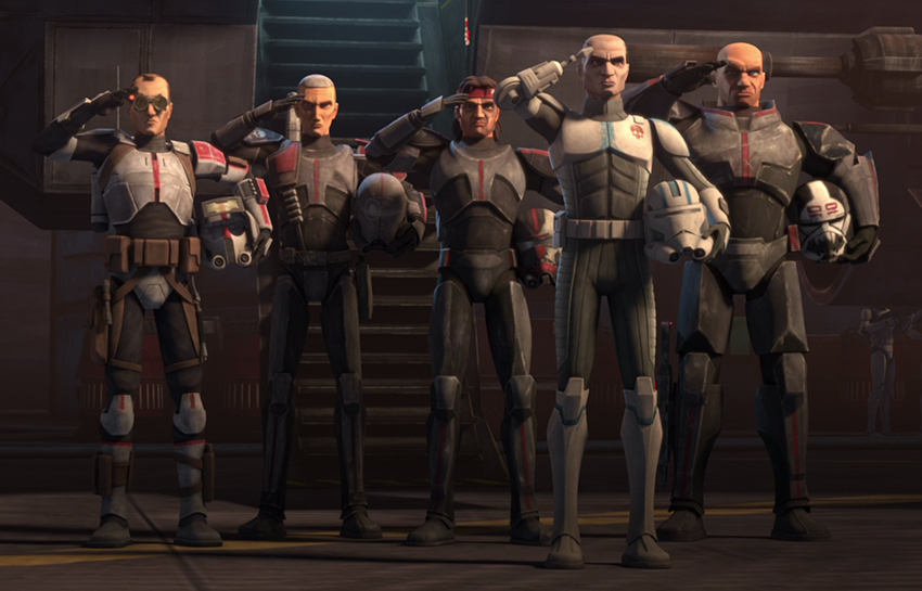 Star Wars: The Clone Wars getting The Bad Batch spinoff for Disney+ 6