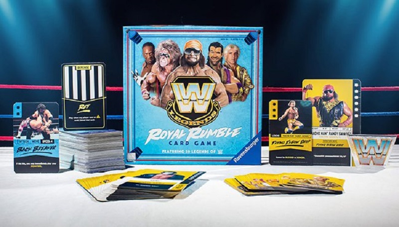 Be the last wrestler standing in this new Royal Rumble Card Game 4