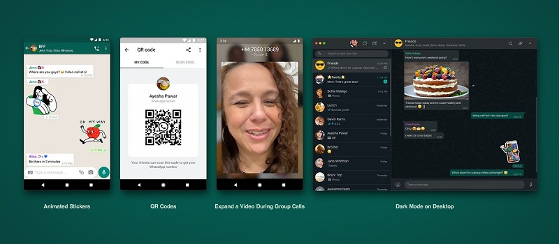 WhatsApps adds contact-sharing QR codes amongst other improvements 8