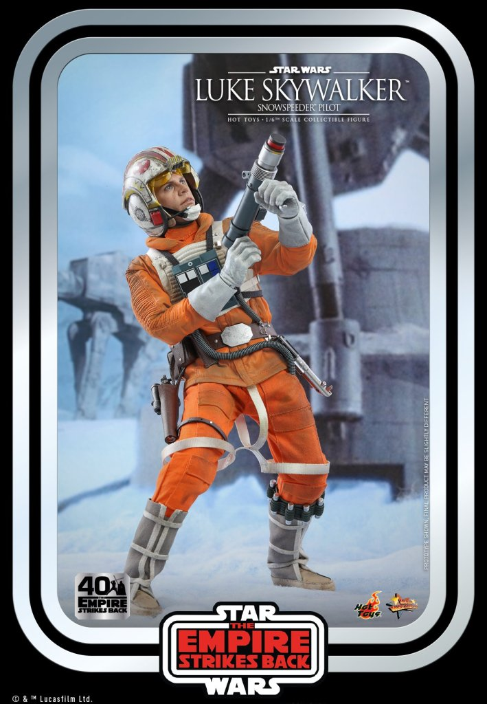 Hot Toys Luke Skywalker sadly doesn't include a severed Wampa arm in the package 30