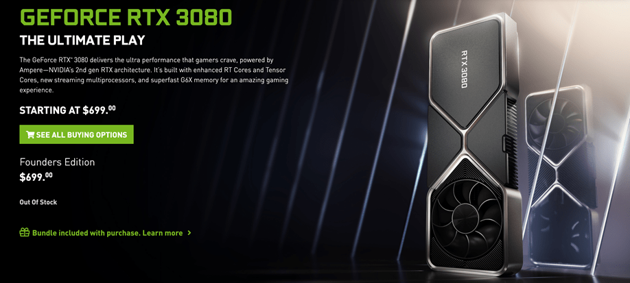 Nvidia apologises for the RTX 3080 launch being overrun by scalpers and bots - Critical Hit
