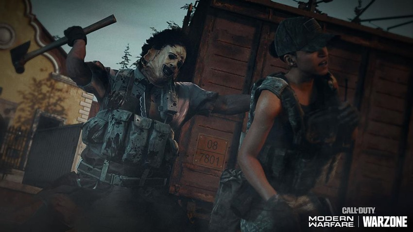 Call of Duty Warzone adds Leatherface, zombies, and more in the Haunting of Verdansk event - Critical Hit