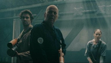 Bruce Willis leads the fight for humanity's survival in the sci-fi action thriller Breach 2