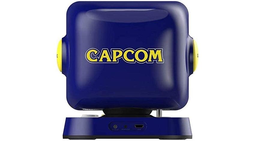 Capcom's new Retro Station home arcade unit looks just like Mega Man's head - Critical Hit