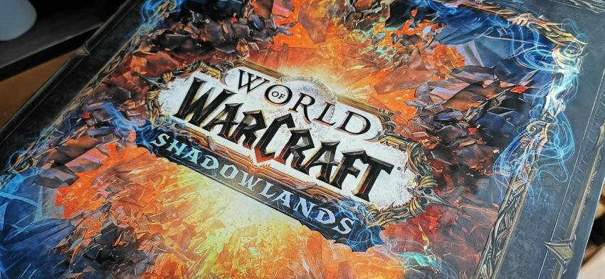 Behold the resplendent glory of this World of WarCraft: Shadowlands Epic Collector's Edition unboxing! 17