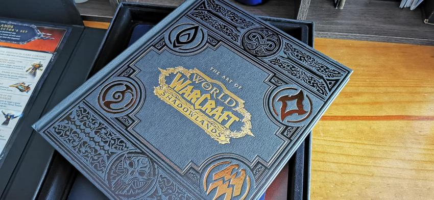 Behold the resplendent glory of this World of WarCraft: Shadowlands Epic Collector's Edition unboxing! 20