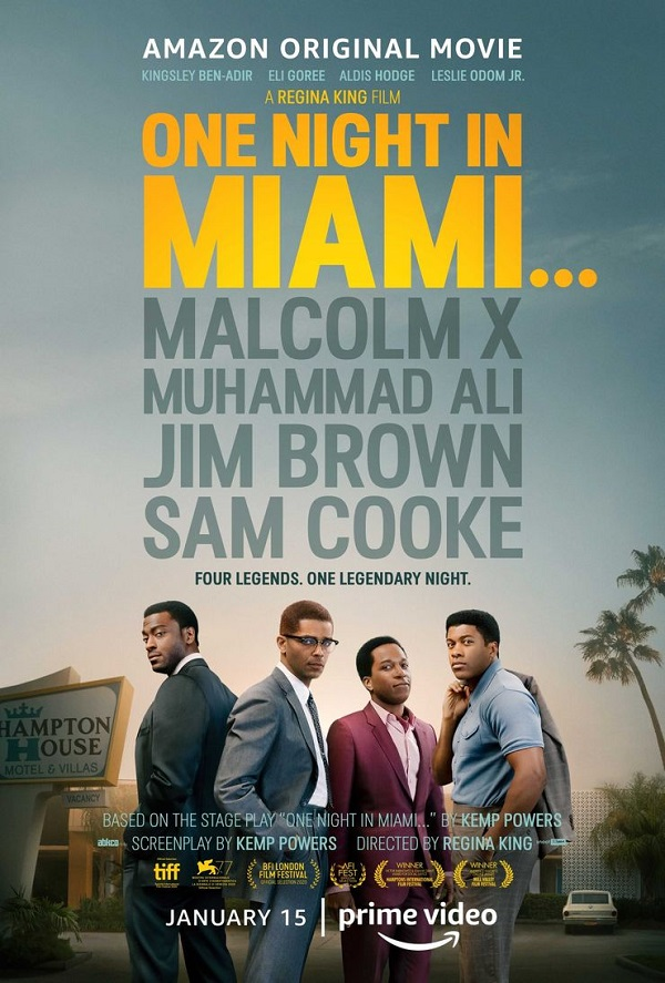 Malcolm X, Muhammad Ali, Jim Brown, and Sam Cooke unite in this trailer for One Night in Miami 4
