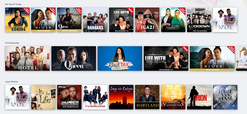 Showmax has launched an ad-supported free version 3