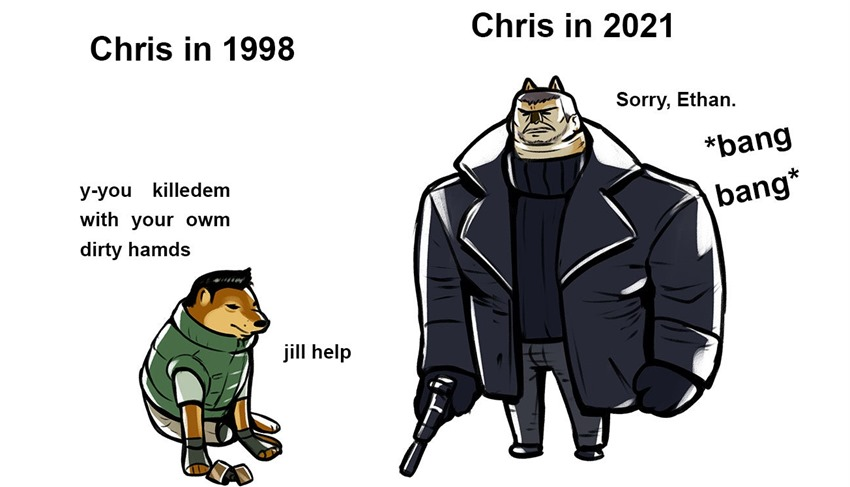 Chris what happened