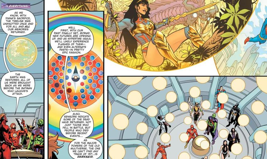DC's new Infinite Frontier omniverse, explained 8