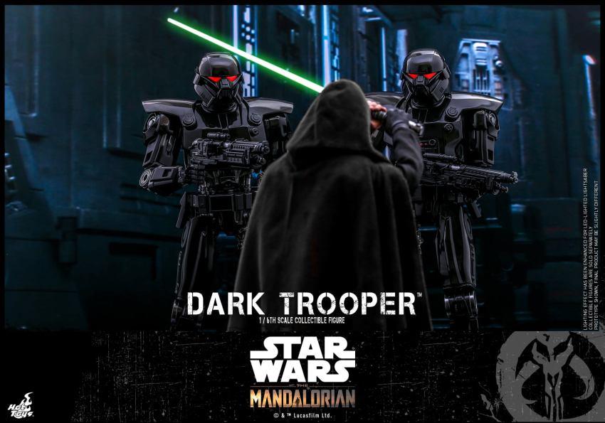 Hot Toys Dark Troopers look sleek, sophisticated, and menacing 28