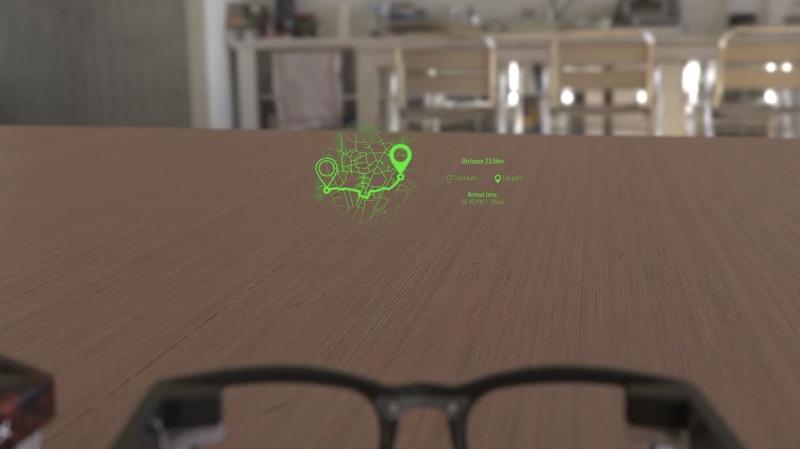 Vuzix showcases a MicroLED smart glass for the future 2