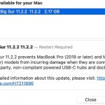 Apple';s new update stops MacBooks from damaging third-party dongles 1
