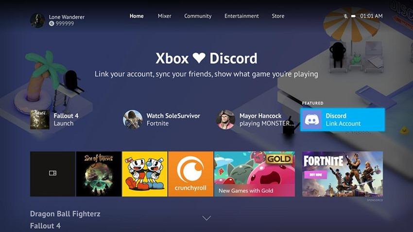 Xbox Discord