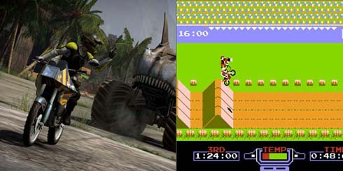 It mystifies some younger gamers how some of us older gamers can still play Excite Bike.