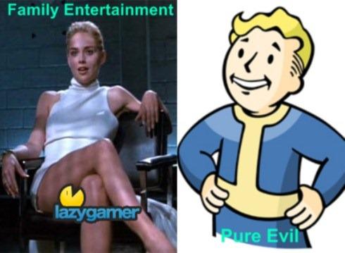 BasicInstinct vs Fallout