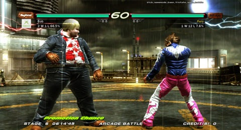 Tekken 6 Lazygamer Review Yo Mamma Kazama Critical Hit