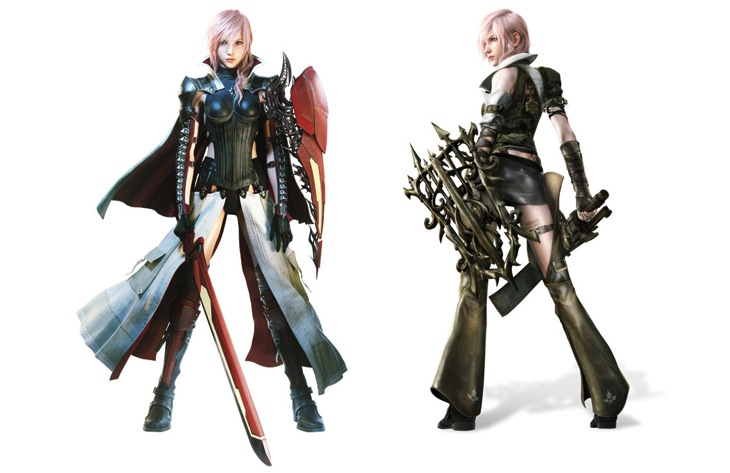 Lightning returns costumes