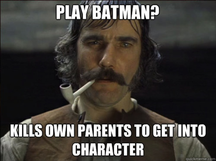 Daniel day batman