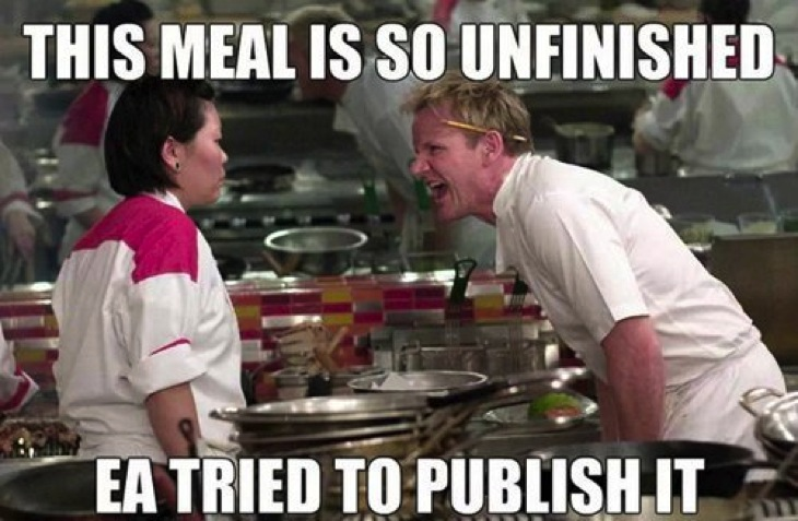 Ramsay unfinished EA