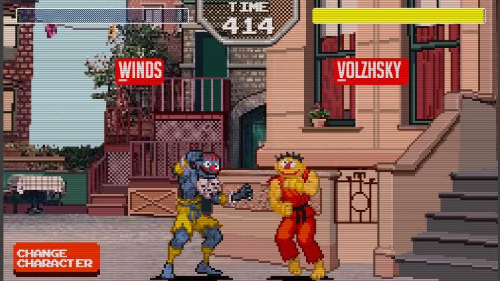 Sesame street fighter