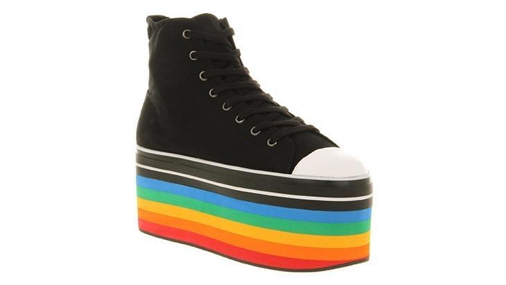 With rainbows!