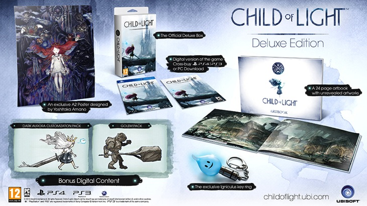 Child of light delux edition