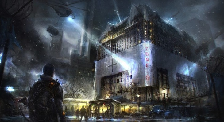 The division hospital