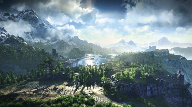 Witcher 3 landscape