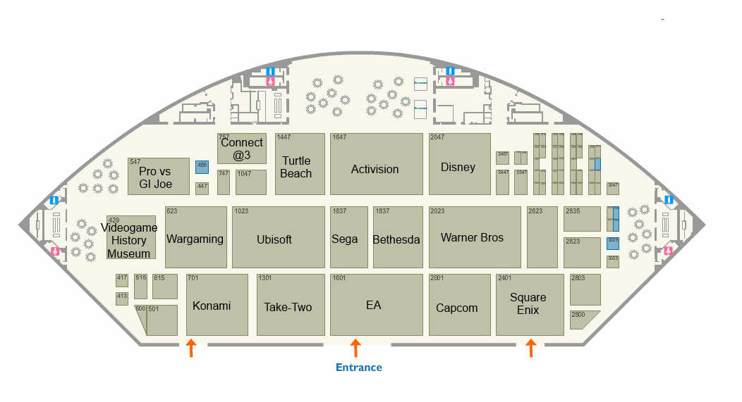 The Official E3 2014 floor plans are out 4