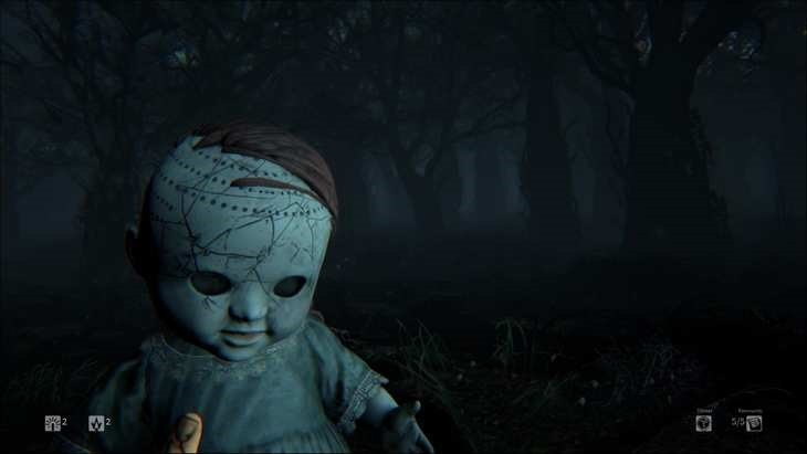 This doll was effing creepy though