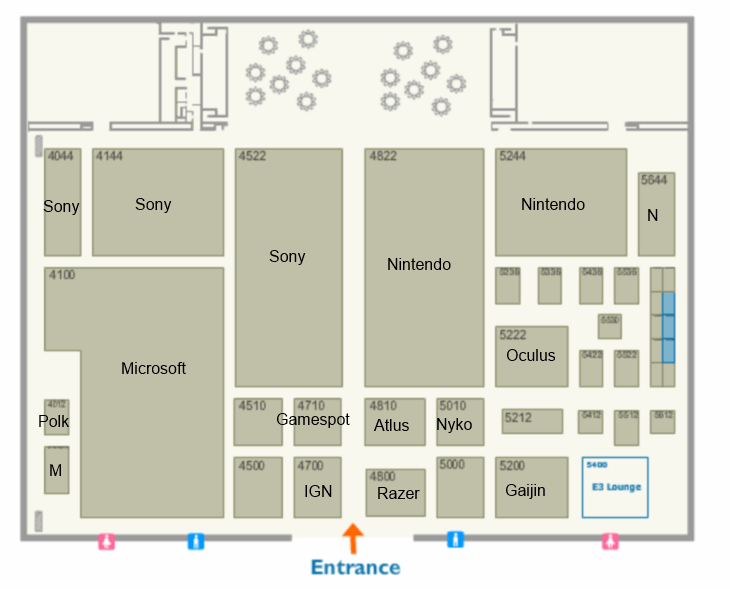 The Official E3 2014 floor plans are out 3
