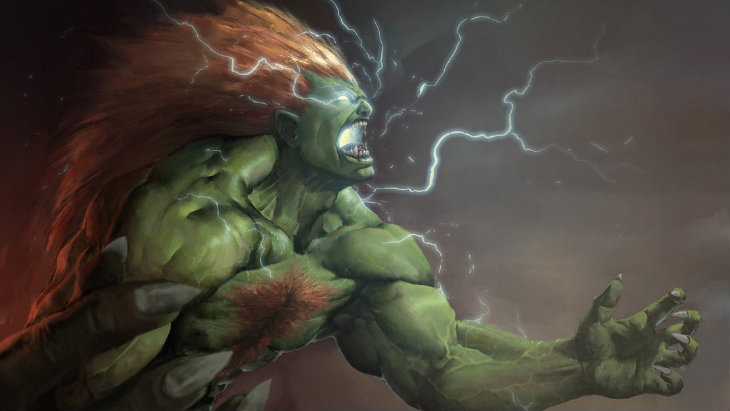 Blanka is not a monster