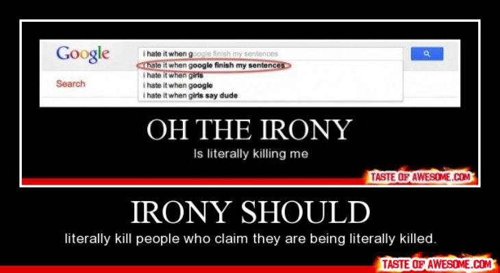 Google irony