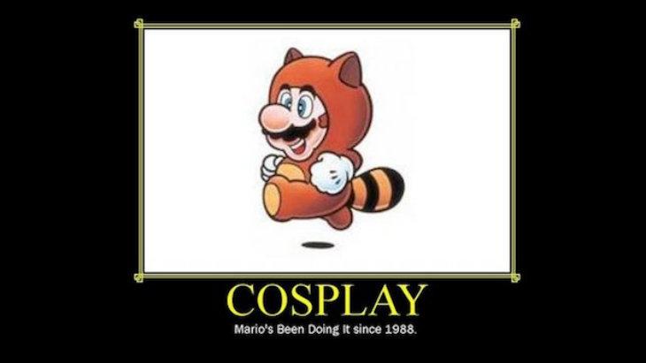 Mario cosplay