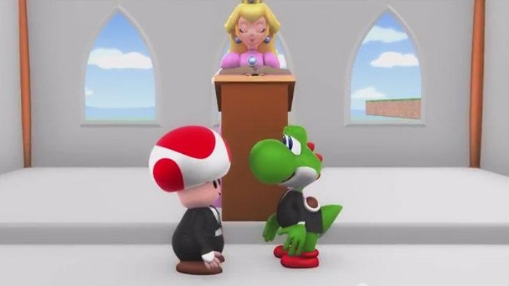 Yoshi toad marriage