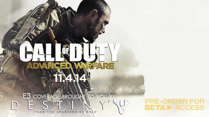 E3 2014 - Hands off with Call of Duty: Advanced Warfare 2
