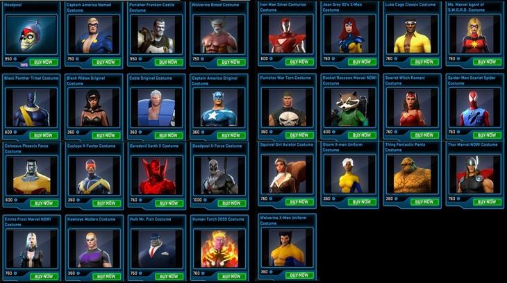 Marvel Heroes (3)