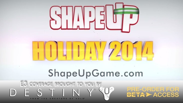 Ubisoft jumps the gun and releases Shape Up for Kinect trailer 2