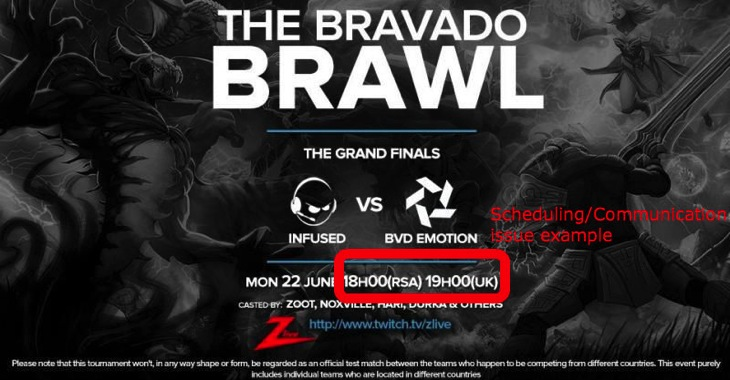 Bvd brawl issue
