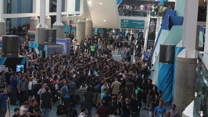 E3 crowd