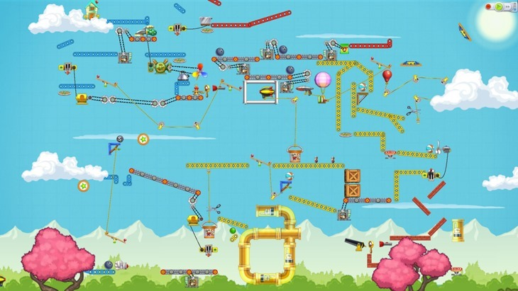 Do you remember TIM, well it's back as Contraption Maker 2