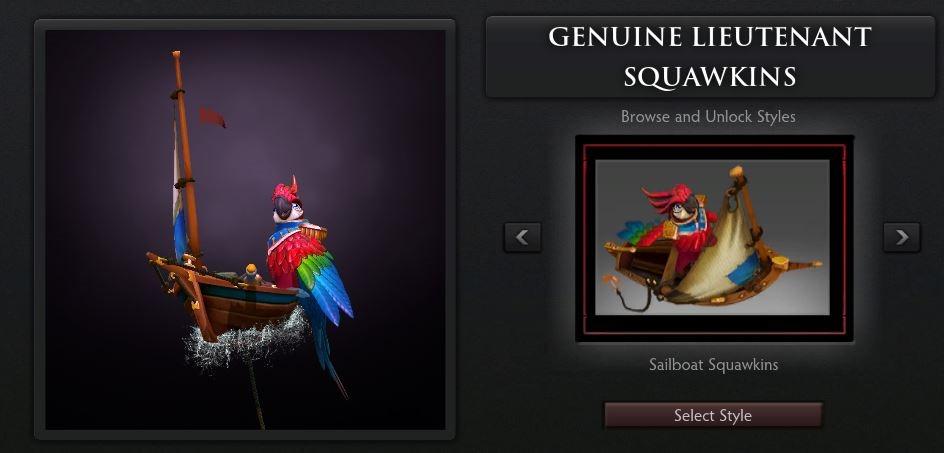 Lt Squawkins Style