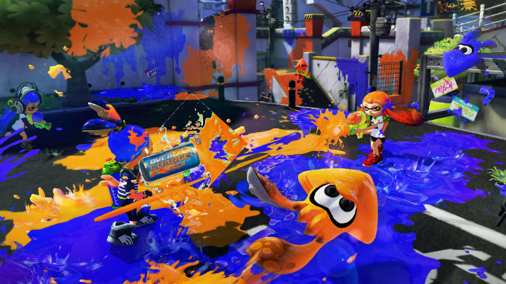 Splatoon overdrive
