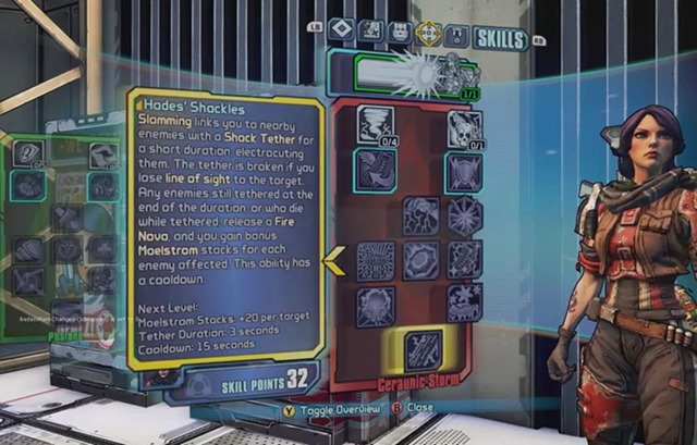 Check out Athena's skills in Borderlands:The Pre-Sequel