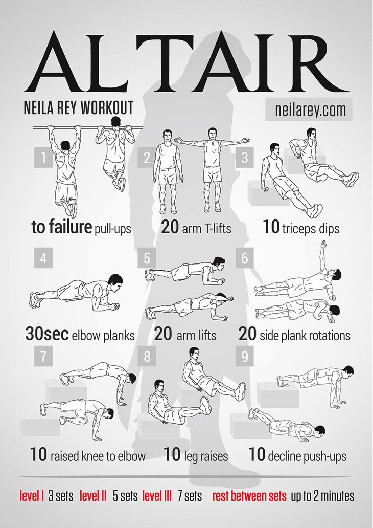 Altair workout