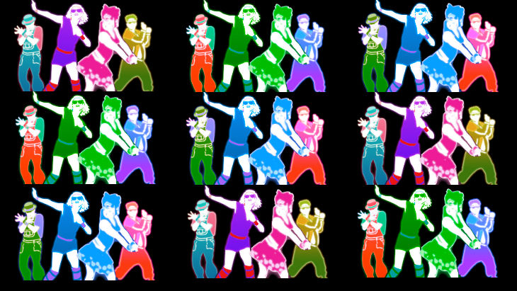 Just dance warhol