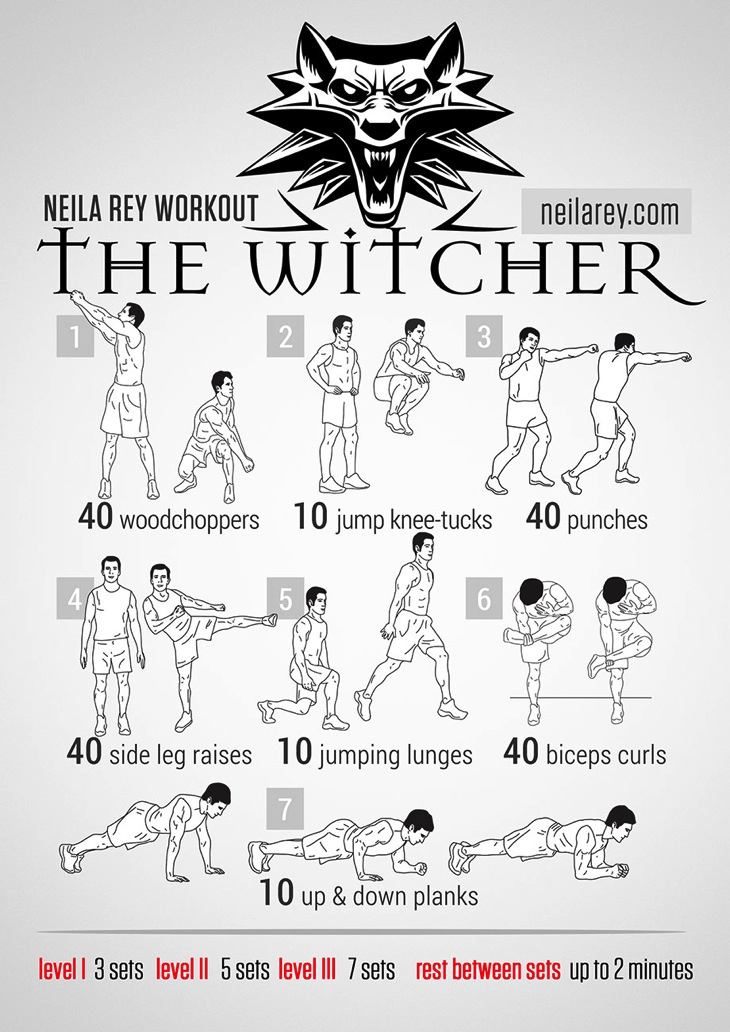 Witcher workout
