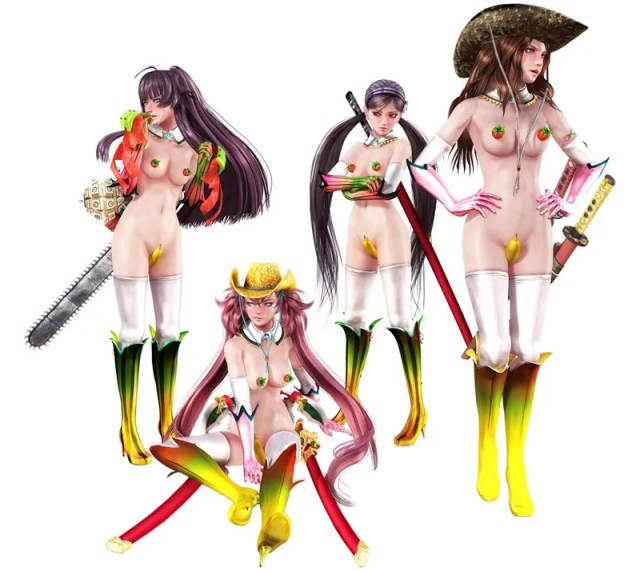 Onechanbara Z2 Is Bananas Nsfw Critical Hit