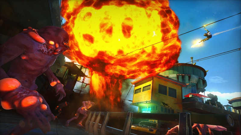Sunset Overdrive forall Twist Of Fate Amp